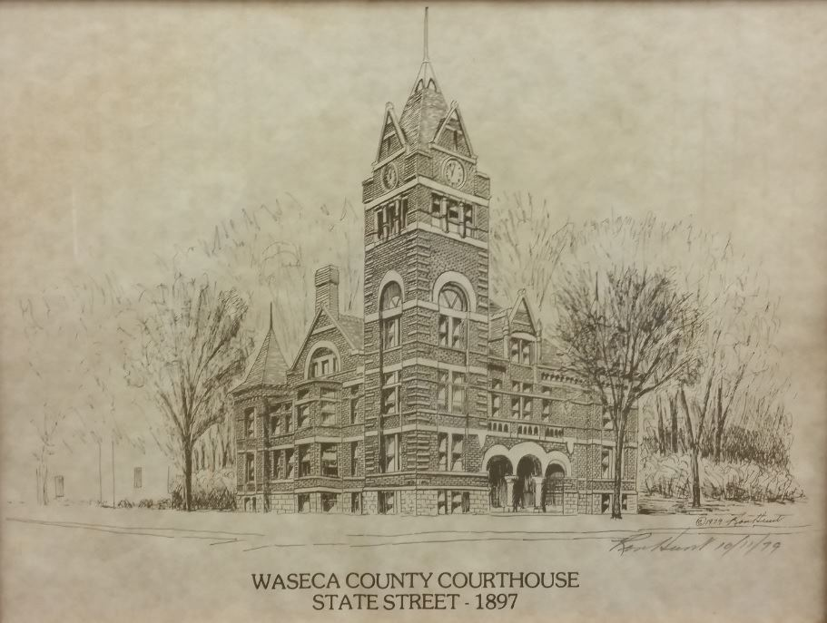 courthouse sketch